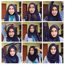 tutorial jilbab remaja yang simple cara memakai jilbab segi empat dan jilbab pashmina simple paling