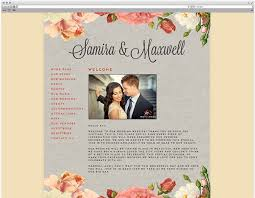 wedding websites search wedding website exles plan my wedding