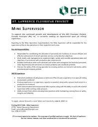 Geologist Job Description Commitment Canada Fluorspar Inc