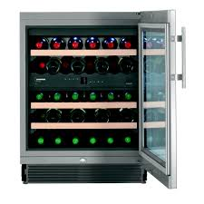 liebherr built in dual zone wine cellar 34 bottle vinidor