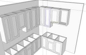Shaker Kitchen Cabinet Plans Kitchens In Sketchup Finewoodworking