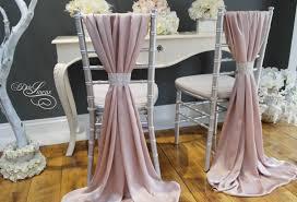 chiavari chair covers wedding chair cover sash silky satin blush pink mink