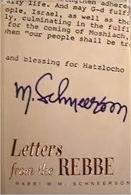 the rebbe book letters from the rebbe rabbi menachem mendel schneerson menahì