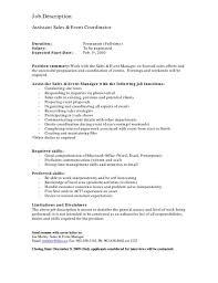 Sales Coordinator Responsibilities Resume Hr Coordinator Cover Letter Images Cover Letter Ideas