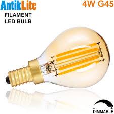 european candelabra edison base e14 4 watt 4w dimmable g45
