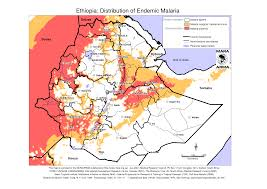 Map Of Ethiopia Scientists Created A Computer System That Helps Predict Malaria