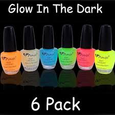 glow in the dark neon nail polish on the hunt