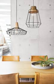 Beacon Lighting Pendant Lights The Beacon Lighting Reuben 1 Light Large Black Wire Pendant With