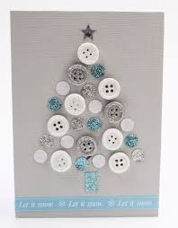 create a christmas card the 25 best christmas button crafts ideas on