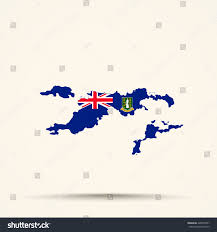 Map Of Virgin Islands Map British Virgin Islands British Virgin Stock Vector 428910031