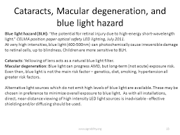 blue light and macular degeneration lighting for health and safety in agricultural settings ppt video