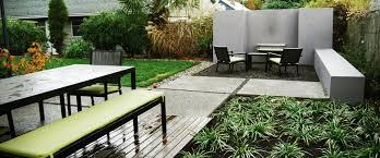 hardscape design landline design modern landscape design