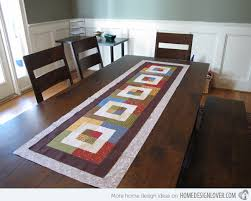 Designs For Runners 15 Table Runner Designs For Your Dining Table Home Design Lover
