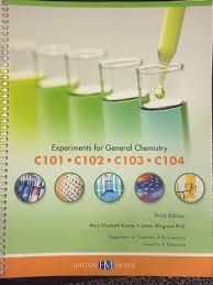 experiments for general chemistry experiments for general