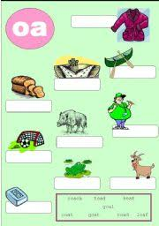 Oa Worksheets Worksheet Phonics 2 Oa