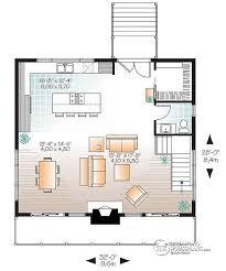 ski chalet floor plans w3969 scandinavian rustic ski chalet plan with 3 bedroom 2