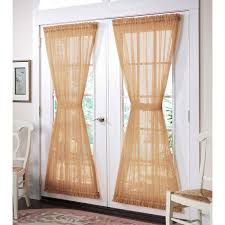 brylanehome studio sheer voile door panel plus size curtains