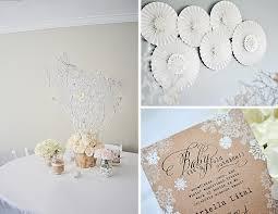 Winter Onederland Party Decorations Ariella U0027s 1st Birthday Party Rustic Winter Wonderland Project