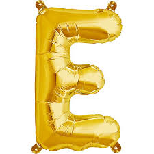 balloon letters balloon letters gold 40 cm northstar e