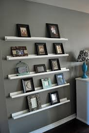 Triangle Wall Shelf Astounding Diy Shelves For Living Room Arranged Brown Wooden