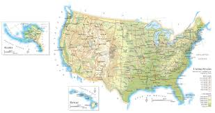 North America Continent Map by Maps Usa Map With Latitude Map Of Usa With Cities And Latitude