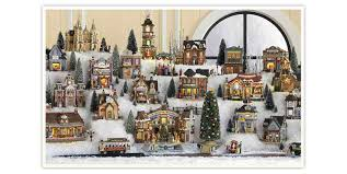 halloween village accessories lemax christmas collection build your christmas village with kmart