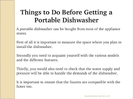 Faucet For Portable Dishwasher Top 5 Portable Dishwashers Under 600