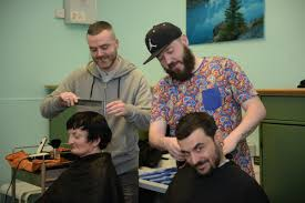 meet the homeless barbers east end boys hit the streets to give