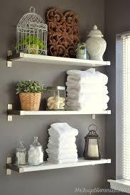 bathroom shelf decorating ideas best 25 bathroom shelf decor ideas on half ingenious