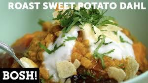 cuisine bosh roast potato dahl bosh vegan vegan