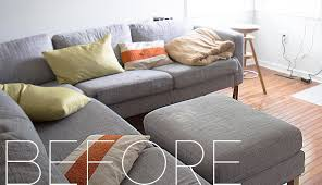 Loveseat Cover Ikea Furniture Refresh And Decorate In A Snap With Slipcover For