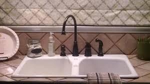 Price Pfister Avalon Kitchen Faucet Tuscan Bronze Avalon 1 Handle Kitchen Faucet Gt26 4cby Pfister