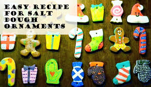 12 homestead of easy salt dough ornaments