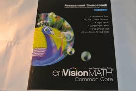 amazon com envision math common core grade 5 assessment