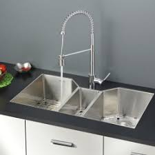Kitchen Sink Set by Ruvati Rvc2383 Stainless Steel Kitchen Sink And Stainless Steel