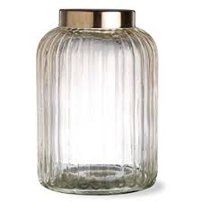clear glass canisters for kitchen tag vintage clear glass kitchen large canister 21 5