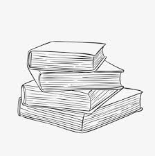 a stack of books sketch book book png image for free download