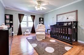 baby nursery baby boy nursery ideas features dark wood crib with