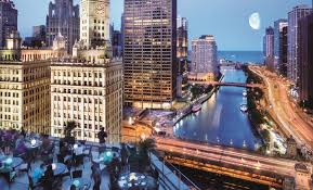 restaurants open on thanksgiving in chicago chicago rooftop bars trump chicago the terrace chicago