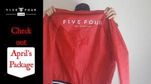 Monthly Clothing Subscription Boxes Five Four Club Review April 2017 Monthly Subscription Box Youtube