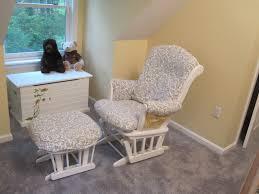 Walmart Rocking Chairs Nursery Chair How To Recover Glider Rocking Chair Cushions Glider Rocker