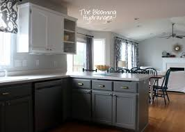 Grey Painted Kitchen Cabinets HBE Kitchen - Painting kitchen cabinets gray