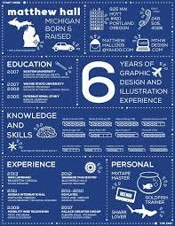 Print Resumes Infographic Resume By Matthew Hall At Coroflot Com Infographics