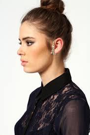 ear cuffs on both ears 35 best ear cuffs images on earrings ears and ear cuffs
