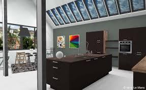 ixina cuisine 3d cuisine ixina en 3d dans un loft