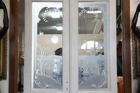 Recycled Interior Doors Interior Sold Pair 1890s Antique Salvage Doors Etched Swan Crane