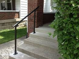 Porch Steps Handrail Best 25 Outdoor Stair Railing Ideas On Pinterest Stair And Step
