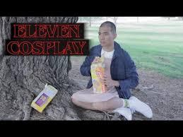 eleven cosplay halloween costume idea youtube