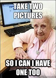 Grandma Computer Meme - computer grandma memes quickmeme