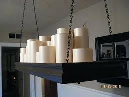 Diy Large Chandelier Pillar Candle Rectangular Chandelier Medium Pillar Candle